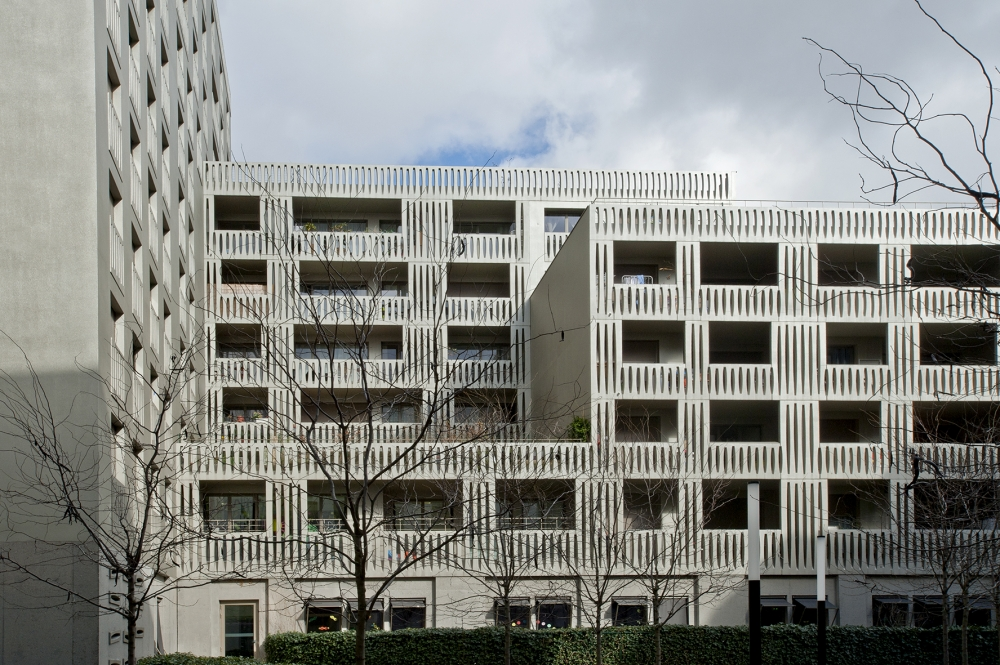 Logements cr che lot a2b zac rives de seine rolinet for Paysagiste boulogne billancourt